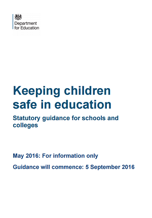 2016 Safeguarding Guidance