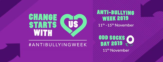 Anti-bullying Week 2019 Banner