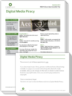 Ess assembly digital media piracy