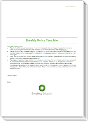 Ess e safety policy template staff 2013