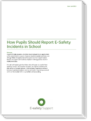 Ess how pupils report incidents 2013