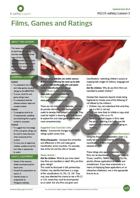 Safeguarding Essentials : School Resources Lesson Plans