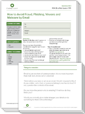 Ess ks4 email avoiding fraud ls 5