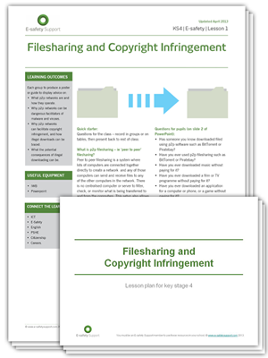 Ess ks4 filesharing and copyright infringement  ls 1