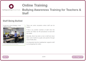Sge bullying training
