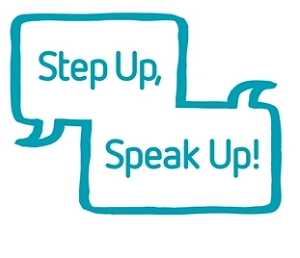 Step Up Speak Up Logo