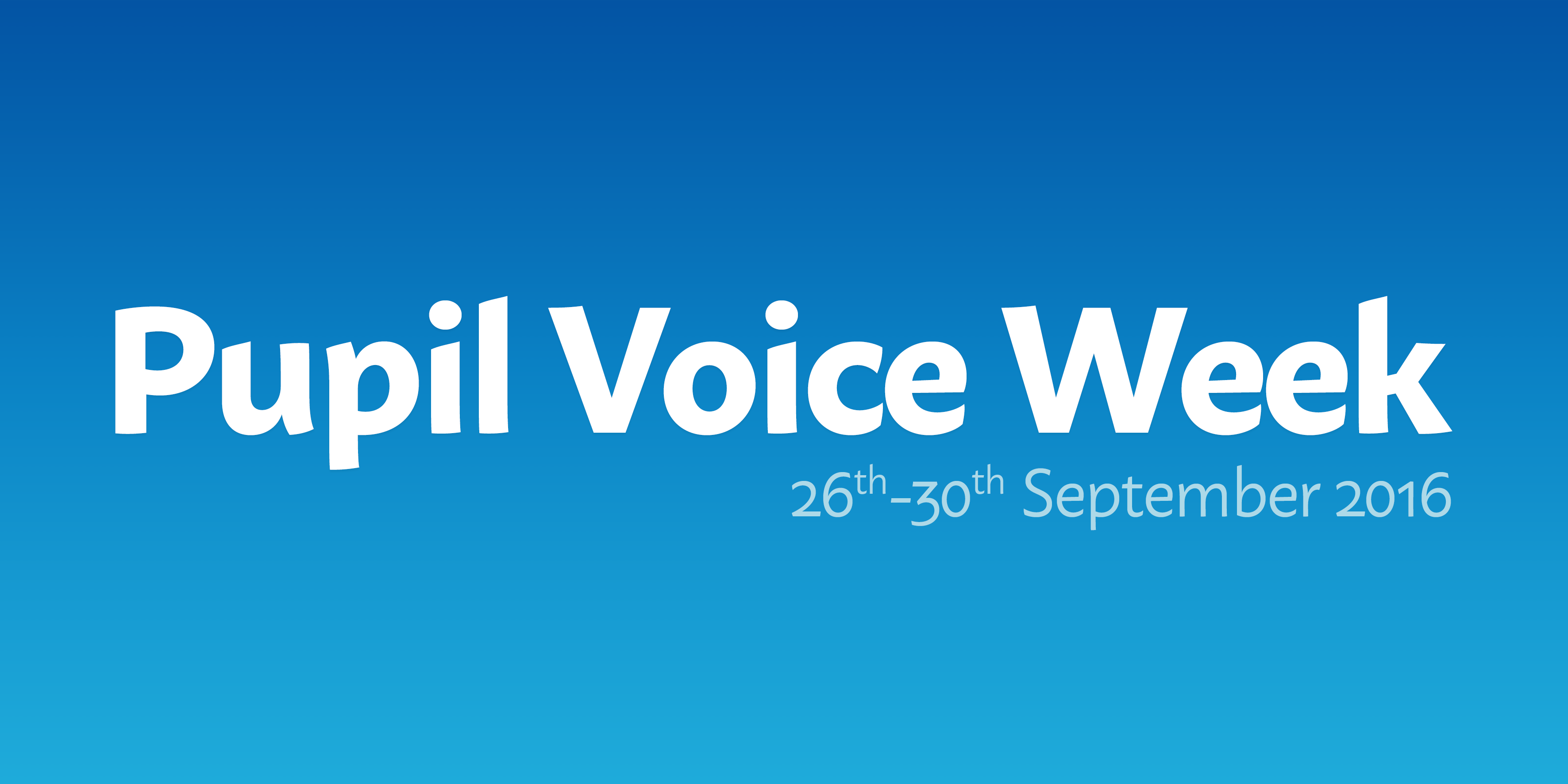 Pupil Voice Week
