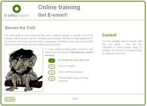 Online training students new